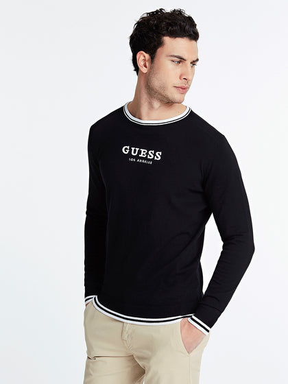 MAGLIA GUESS LOGO FRONTALE M0GR07Z2NO0