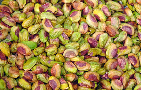 Salted & Roasted Pistachio Kernels