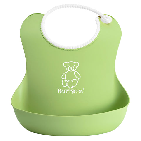 BabyBjorn Soft Bib, Green