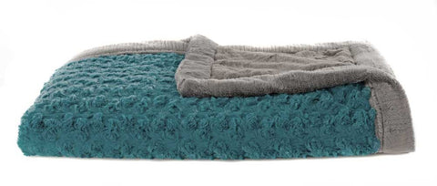 Saranoni Receiving Blanket, Teal