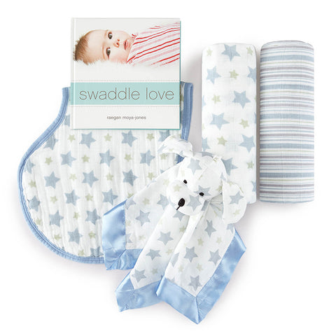 Aden + Anais New Beginnings Gift Set, Prince Charming