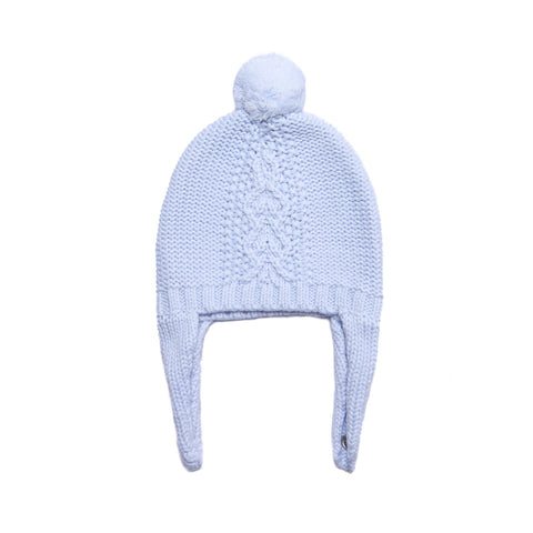 Angel Dear Cozy Pilot Hat, 6-12M, Pale blue