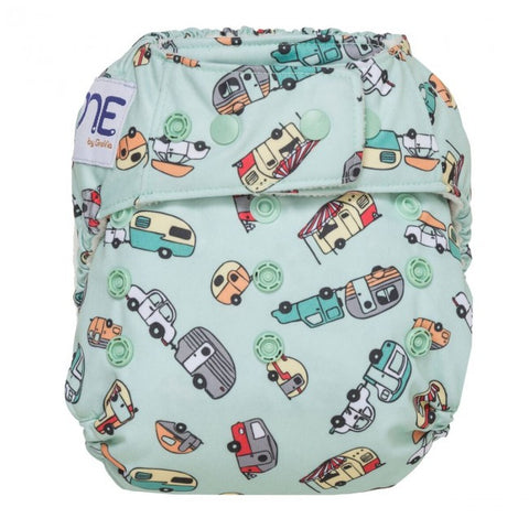 GroVia O.N.E Diaper, Adventure