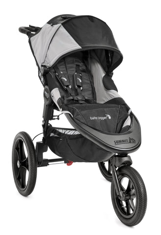 Baby Jogger Summit X3 Single, Black/Gray