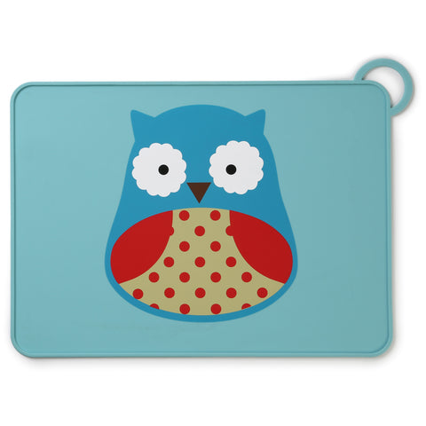 Skip Hop Zoo Packable Placemat, Owl