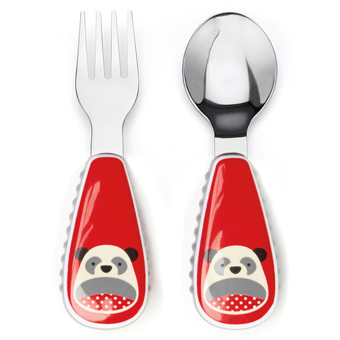 Skip Hop Zootensils Fork and Spoon, Panda
