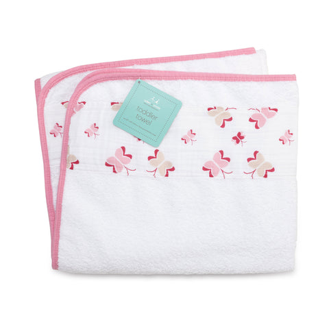 Aden + Anais Toddler Towel, Princess Posie
