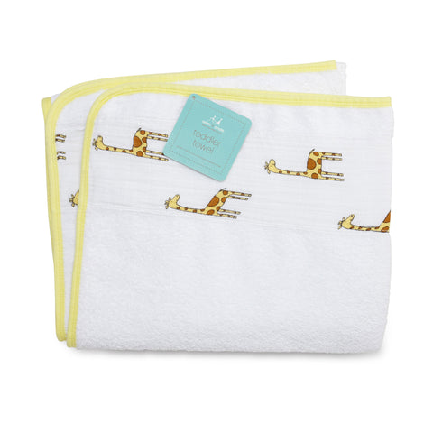 Aden + Anais Toddler Towel, Jungle Jam