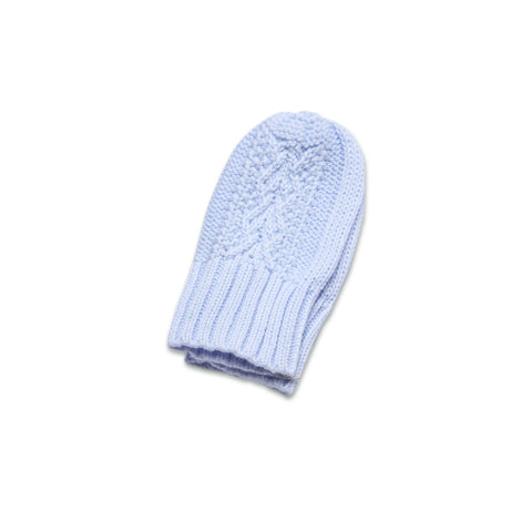 Angel Dear Cozy Mittens, Pale Blue