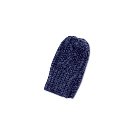 Angel Dear Cozy Mittens, Navy Heather