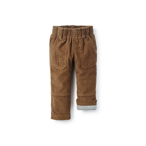 Tea Collection Corduroy Roll-Up Pants, 3_6, Mushroom