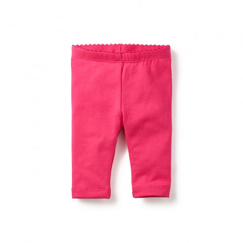 Tea Collection Solid Capri Leggings, 3, Poppy