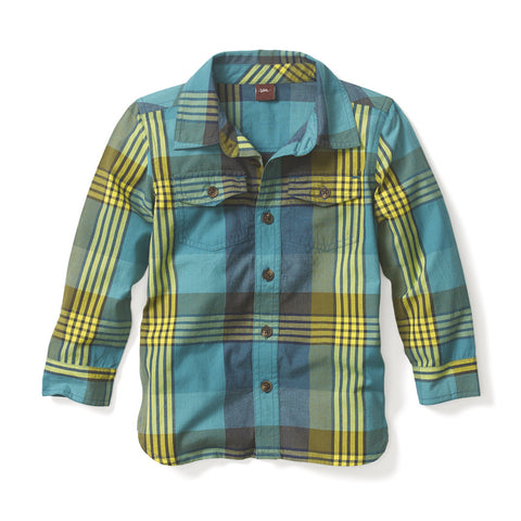 Tea Collection Karnataka Plaid Shirt, 4