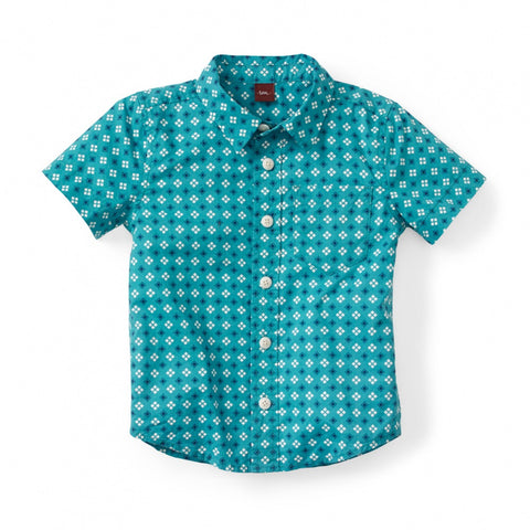 Tea Collection Rakhi Festival Shirt, 4, Atlantic Blue