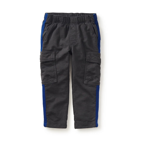 Tea Collection Side Stripe Cargo Pants, 2, Thunder