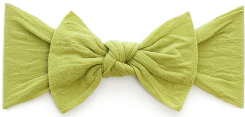 Baby Bling Headbands Knot, Olive