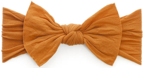 Baby Bling Headbands Knot, Pumpkin