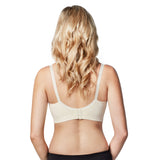Bravado Designs The Body Silk Seamless Nursing Bra, Large, Ivory