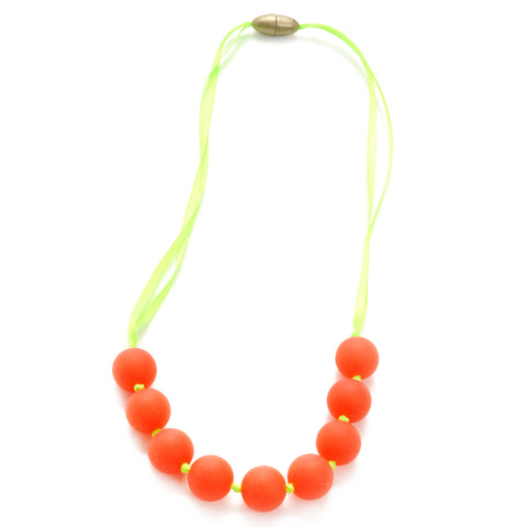 Chewbeads Madison Jr Necklace, Watermelon