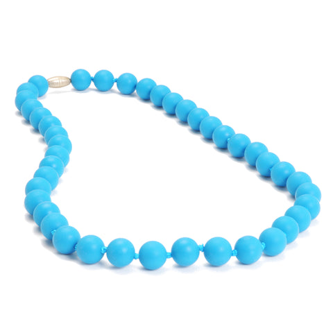 Chewbeads Jane Necklace, Deep Sea Blue