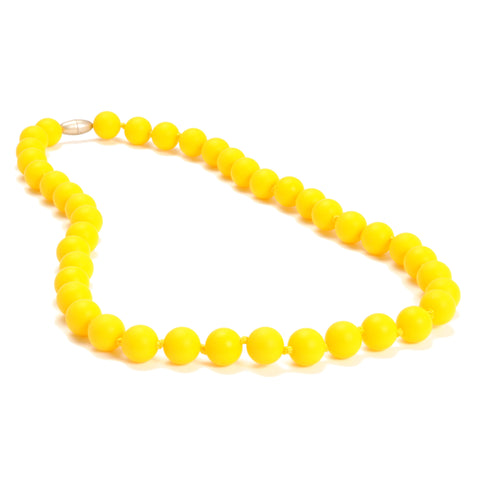 Chewbeads Jane Necklace, Sunshine Yellow
