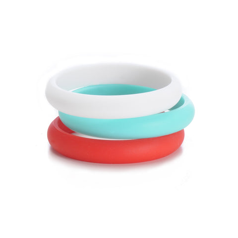 Chewbeads Skinny Charles Bangle, Cherry Red