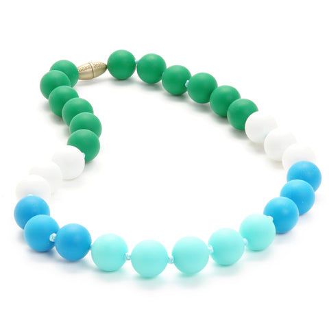 Chewbeads Bleecker Jr. Necklace, Turquoise