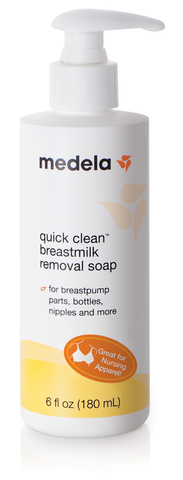 Medela Quick Clean Breastmilk Removal Soap, 6 fl oz