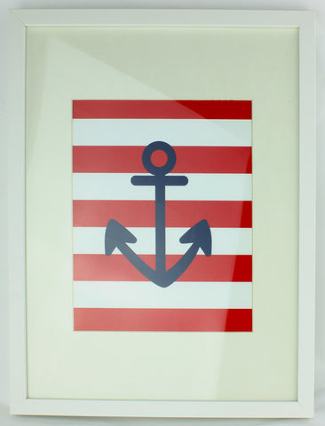 Aldari Art Baby Nursery Art Print - Anchor