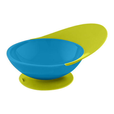 Boon Catch Bowl with Spill Catcher, Blue/Green