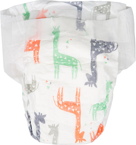 The Honest Company Diapers, Size 0, Multi Colored Giraffes