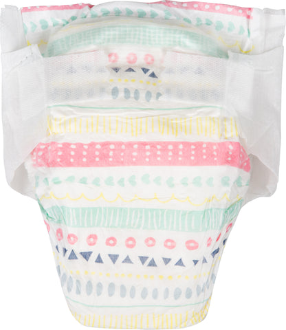 The Honest Company Diapers, Size 0, Pastel Tribal