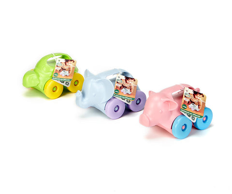 Green Toys Animals-on-wheels, Assortment