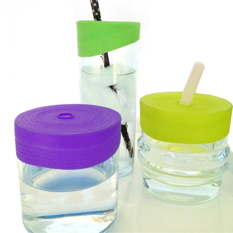 Sili Kids Straw Tops, 3 pack, Fresh/Haze/Graze