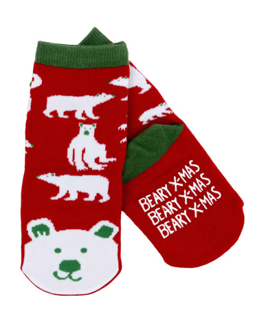 Little Blue House Berry X Mas Crew Sock, Small