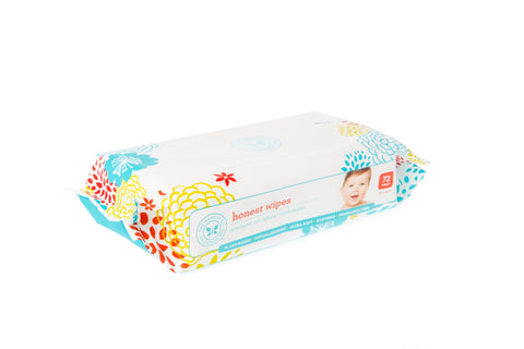 The Honest Company Wipes, 72 Count