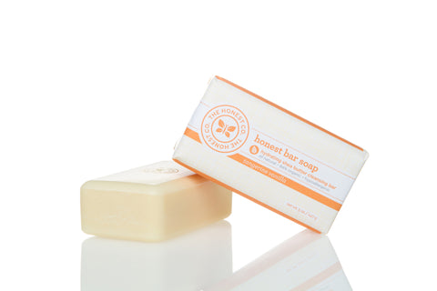The Honest Company Bar Soap, 5oz, Tangerine