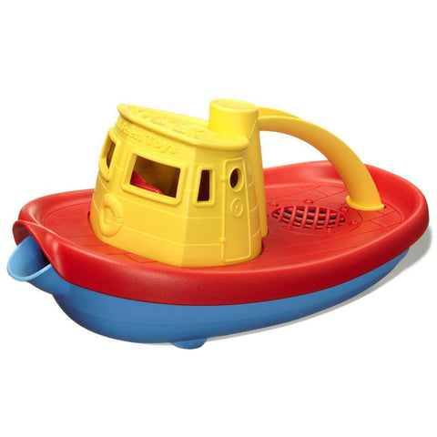 Green Toys Tug Boat, Yellow