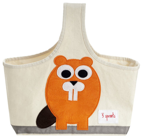 3 Sprouts Caddy Beaver, Orange