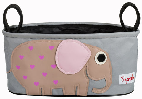 3 Sprouts Stroller Organizer Elephant, Pink