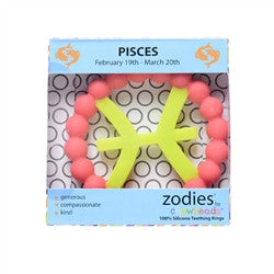 Chewbeads Zodies Teethers, Pisces Pink