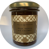 PEAR, DATE AND ALE CHUTNEY - ENGLAND PRESERVES