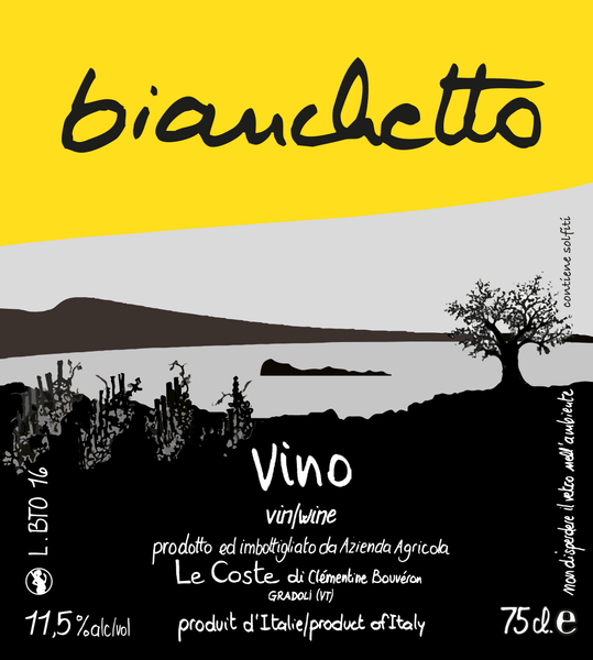 Le Coste, Bianchetto 2019 (Orange Wine)