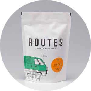 ROUTES COFFEE - HOUSE BLEND - DECAF