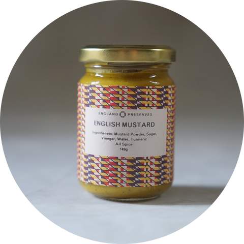 ENGLISH MUSTARD - ENGLAND PRESERVES