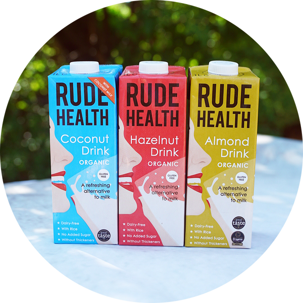RUDE HEALTH ALTERNATIVE MILKS