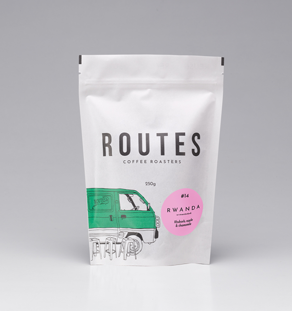 ROUTES COFFEE - SINGLE ORIGIN - RWANDA