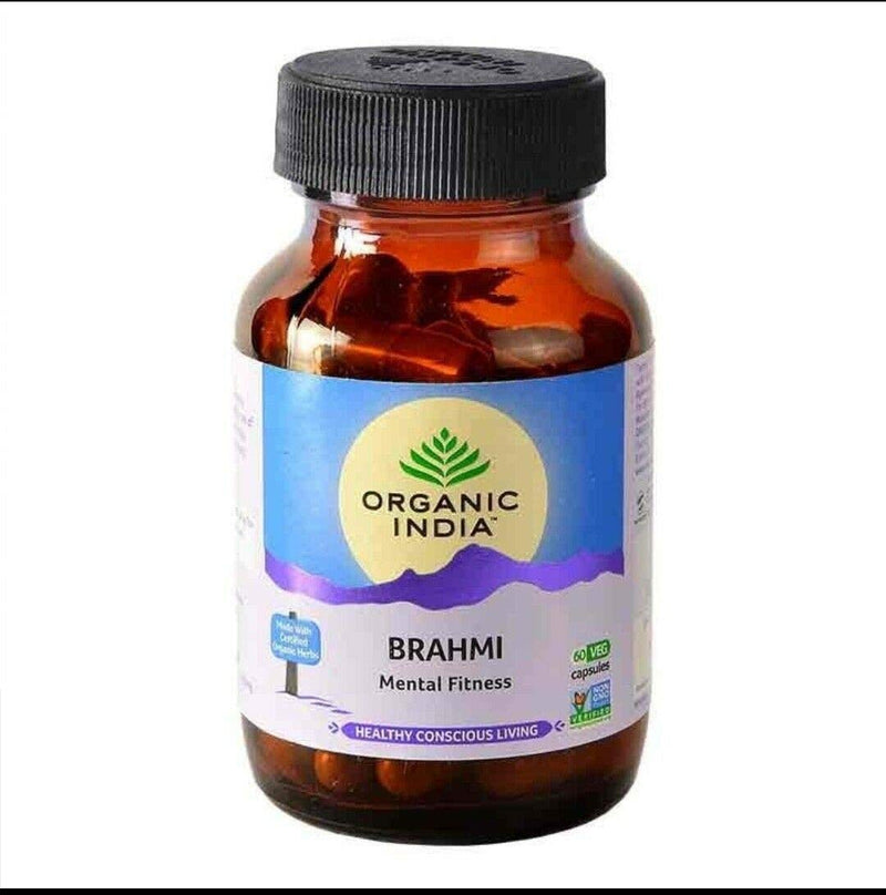 Organic India Brahmi - 60 Capsules Bottle