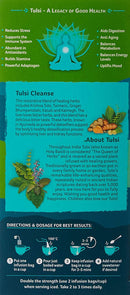 Organic India Tulsi Cleanse Tea 25 Tea Bags