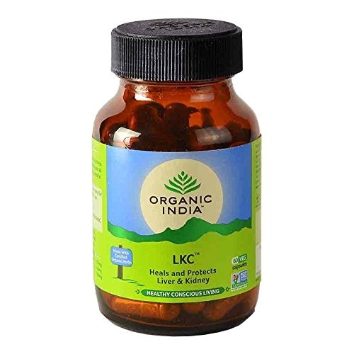 Organic India Liver Kidney Care - 60 Capsules Bottle
